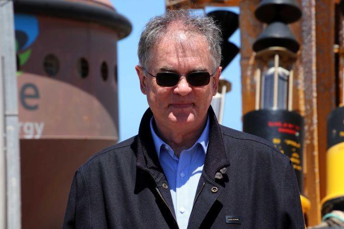 One of Carnegie Clean Energy's concerned shareholders Greg Benjamin.
